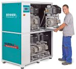 Oil-free screw compressor (stationary)